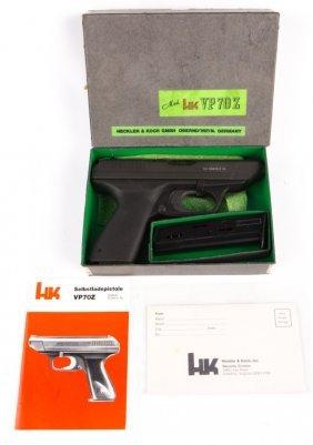 H&k Heckler & Koch Vp70z 9mm Pistol