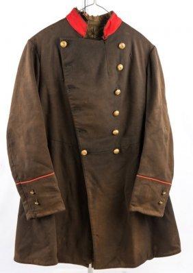 19th Century Civil War Era Alabama Military Coat