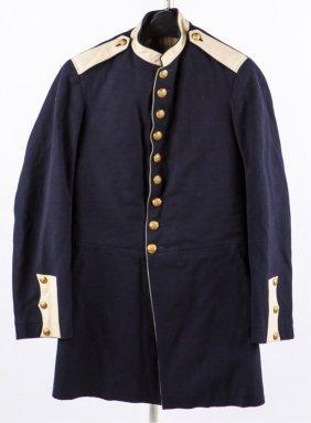 Named Us Model 1881 Enlisted Mans Dress Coat
