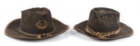 19th Century Cavalry Hat Lot Of 2