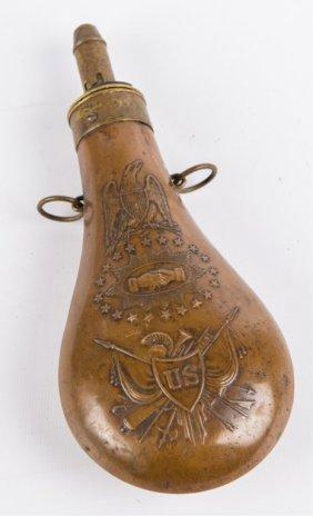 Civil War Powder Flask