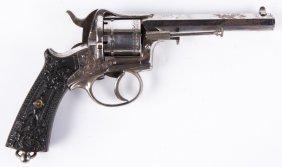 19th Century Belgian Pinfire Revolver