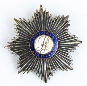 Poland Order Of Polonia Restituta Breast Star