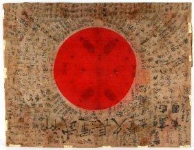 Wwii Japanese Prayer Flag