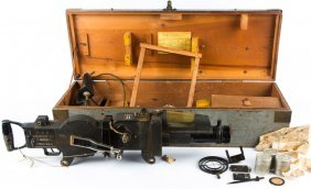 Wwii Japanese Konishi Type 89 Machine Gun Camera