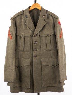 Wwii Usmc Uniform Jacket