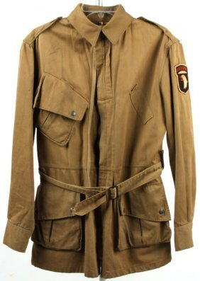 Wwii M1942 Airborne Jump Jacket Hand Made Patch