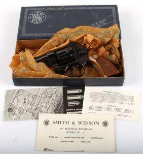 Smith & Wesson Model 27 Revolver S&w 357 Mag +box