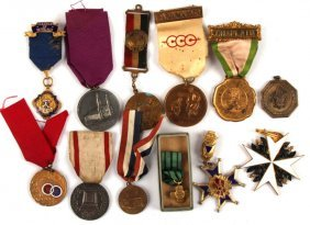 Mixed Lot Of Non-military Medals