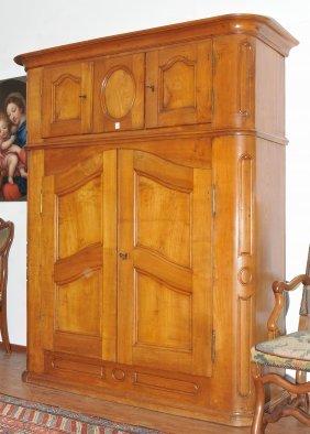 Schuler auktionen ag a136 antique furniture clocks and for Sideboard kirschbaum