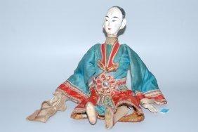 Puppe China, Mitte 20.jh. Peking-oper Puppe In
