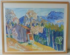 Luck, Georg Peter (wald 1920–1995 Zrich) Stall In Den
