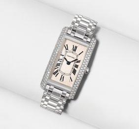 Cartier Brillant-damenarmbanduhr 1990er Jahre. Modell