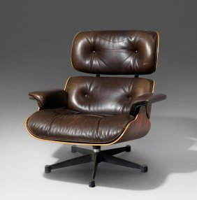 Eames, Charles Und Ray Lounge Sessel Modell Nr. 670.