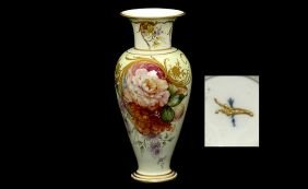 19th Century KPM Porcelain Portrait Vase