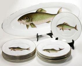Carlsbad Austrian Eleven Piece Fish Set