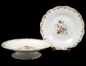Nineteen Piece Davenport Porcelain Dessert Service
