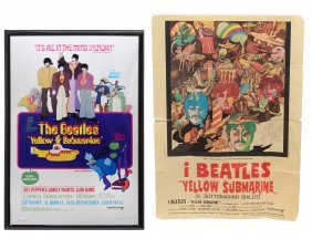 Limited Edition Yellow Submarine Beatles Poster