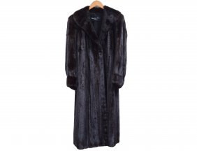 Christian Dior Full Length Mink Coat