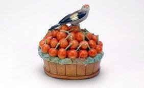 Jacob Petit Antique French Porcelain Lidded Box