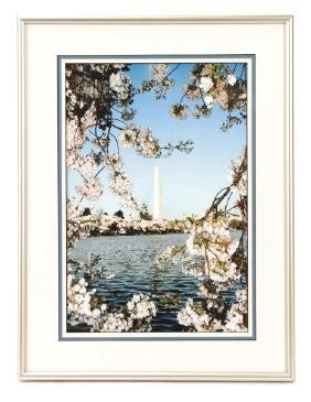 "Sachs, ""Washington Monument In Spring"", Print"