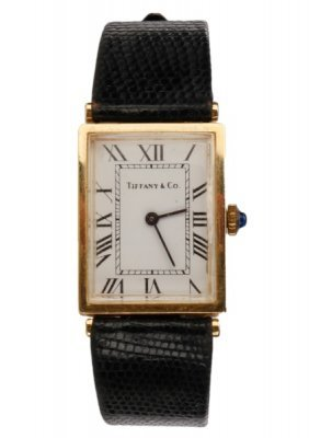 Classic Tiffany & Co. 14k Yellow Gold Watch
