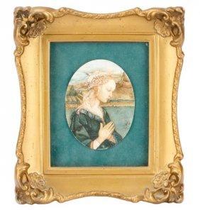 Grand Tour Miniature, Filippo Lippi, Madonna