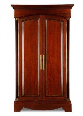 Custom Empire Style 2 Door Entertainment Armoire