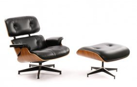 Eames Office Lounge Chair And Ottoman 670 & 671
