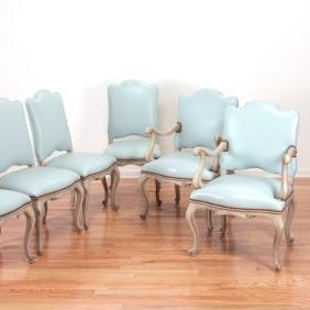 Set (6) Venetian Rococo Style Chairs