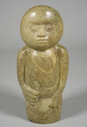 Stone Sculpture By Edward Chiwawa (b. 1935, Zimba