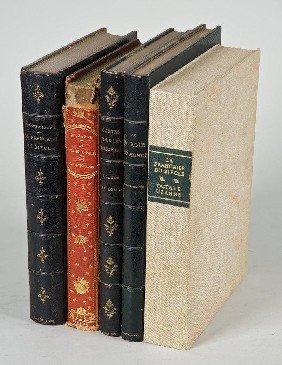 Uzanne, Octave, 5 Vols., 4 Titles