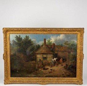 Henry Lark Pratt (1805-1873, British), Painting
