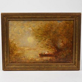 Louis Paul Dessar (1867-1952, American), Painting