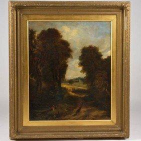 Attr. To John Constable (1776-1837, British), Pai