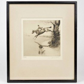 Cecil Aldin (1870-1935, British), Signed Etching