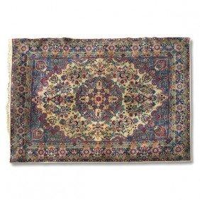 "Kirman Carpet, Approx. 7'10"" X 10'11"""