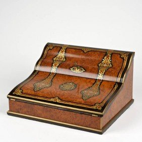 Nice Quality Napoleon III Brass Inlaid Writing Bo