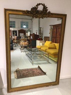 Large 19th C. Giltwood Pier Mirror