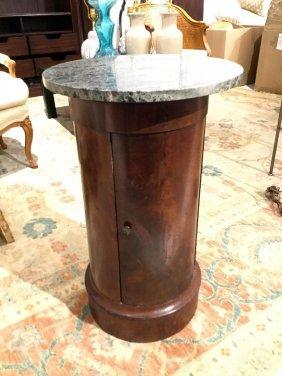 Biedermeier Marble Top Pot Table