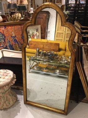 Queen Anne Inspired Gilt Mirror