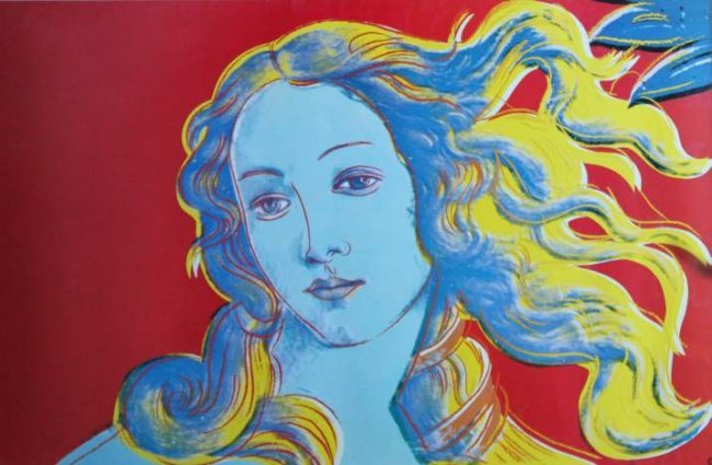 venus and andy warhol Andy warhol (1928-1987) details of renaissance paintings, birth of venus, 1482 silkscreen on paper, ed 68/70, 1984 1987 museum purchase, albert and helen thalheimer fund of the greater kanawha valley.