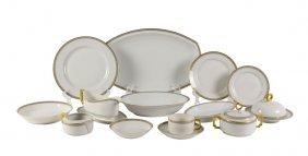 A German Porcelain Dinner Service For Twelve, Heinrich