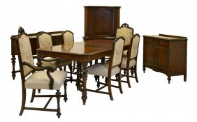 A Batesville Cabinet Co. Dining Suite