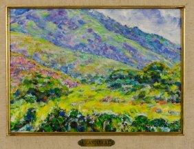Antonio Alcantara, (20th Century), Landscape, 1976, Oil