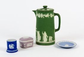 Four Wedgwood Jasperware Table Articles