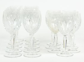 A Group Of 'nocturne' By Gorham Stemware