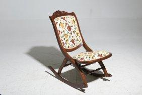 A Folding Rocking Chair
