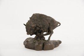 A National Wildlife Federation Buffalo Bronze