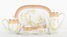 A Schumann Arzberg Bavarian Porcelain Tea Set